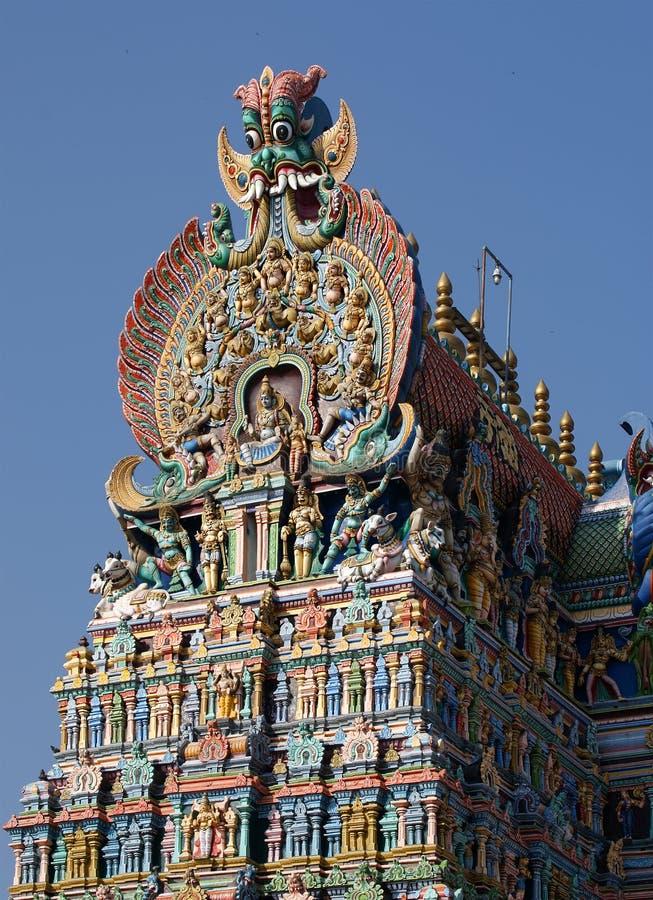 Download Meenakshi Hindu Temple In Madurai, Tamil Nadu Royalty Free Stock Image - Image: 20123636
