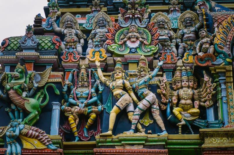 Meenakshi hinduska świątynia w Madurai, zdjęcia royalty free