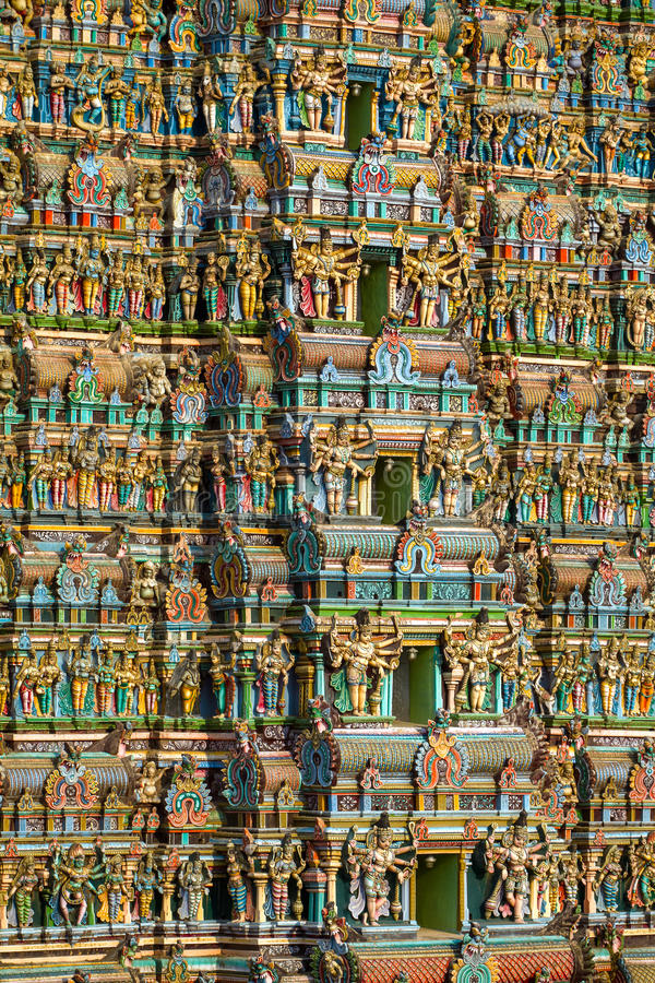 Free Meenakshi Temple Stock Photo - 31514400