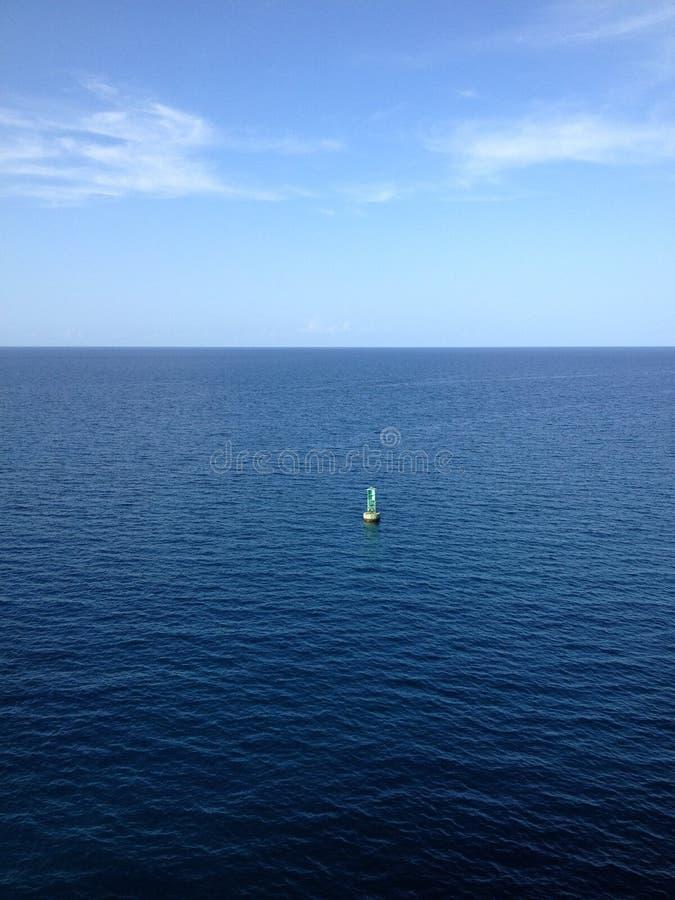 In Meer stockfoto