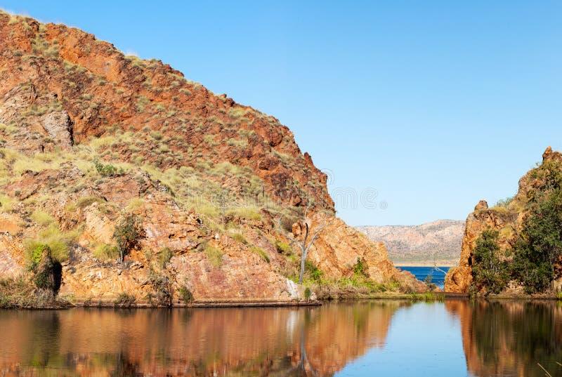 Meer Argyle Western Australia royalty-vrije stock afbeeldingen