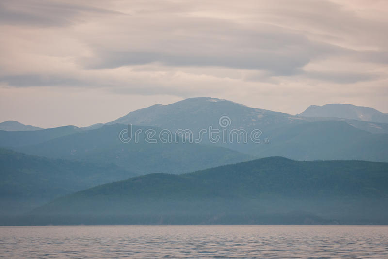 Meer Baikal, Rusland royalty-vrije stock afbeelding