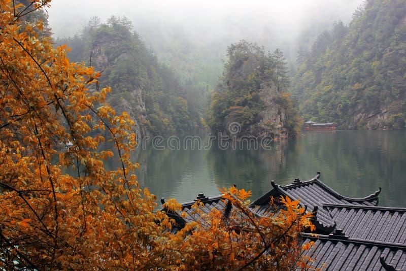 Meer Baofen, China royalty-vrije stock afbeeldingen
