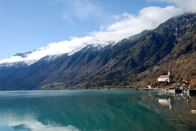 Meer Brienz, Zwitserland royalty-vrije stock foto