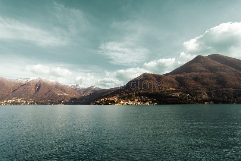 Meer Como Italië Lombardia royalty-vrije stock fotografie