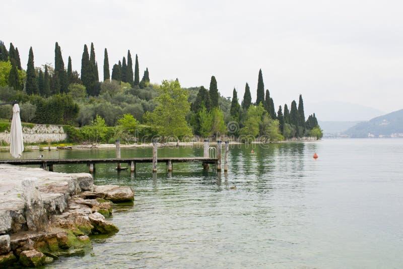 Meer Garda - Veneto stock foto's