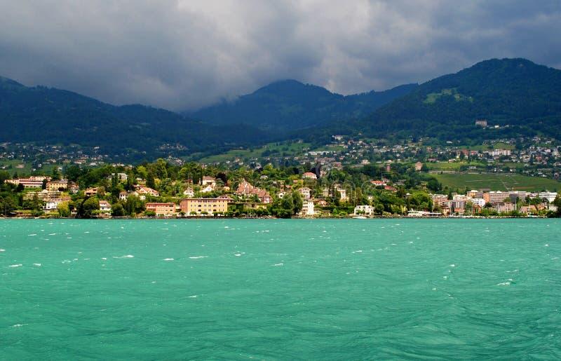 Meer Genève royalty-vrije stock foto's
