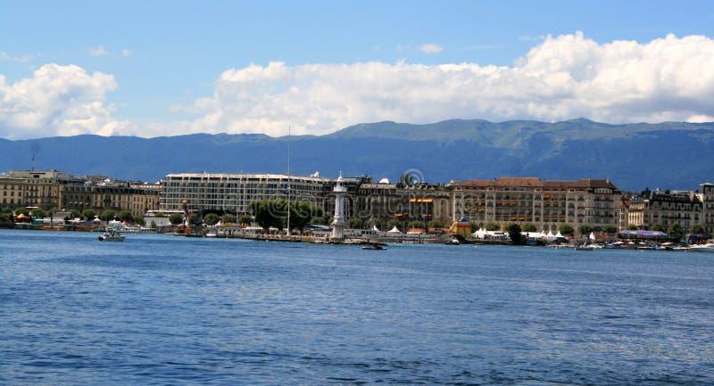 Meer Genève royalty-vrije stock afbeeldingen