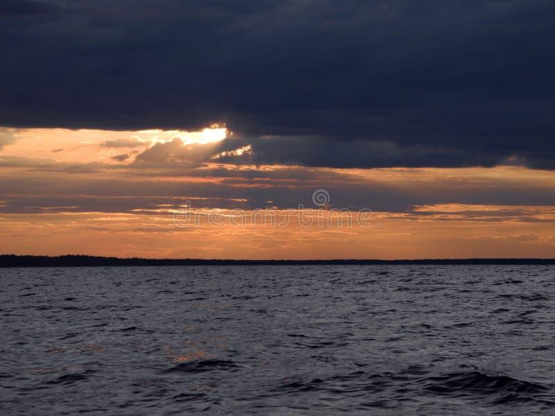 Meer Het noorden van Rusland stock foto's
