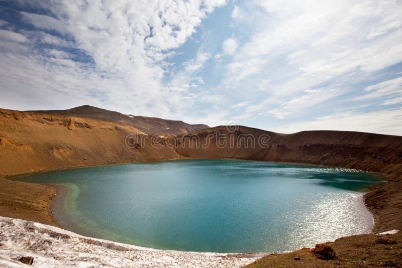 Meer in IJsland royalty-vrije stock fotografie