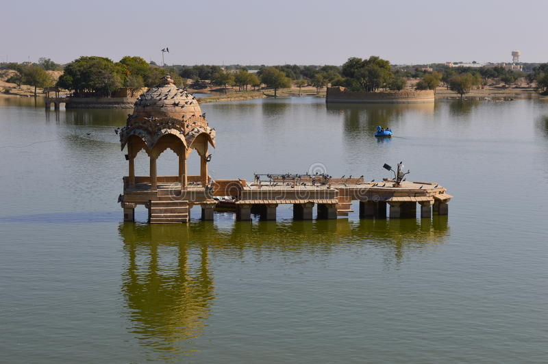 Meer in Jaisalmer royalty-vrije stock fotografie