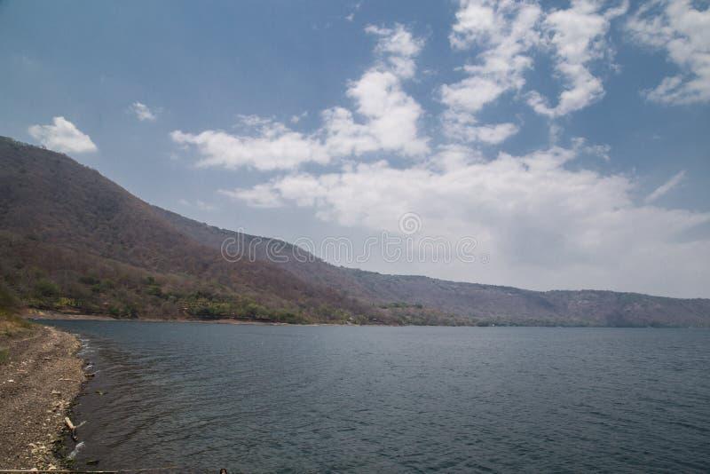 Meer Laguna DE Apoyo, Nicaragua royalty-vrije stock foto's