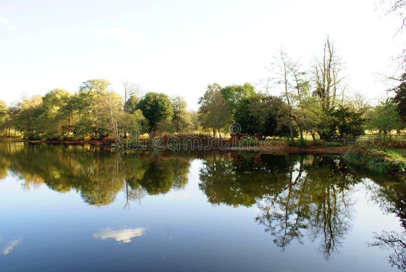 Meer in Lincolnshire, Engeland royalty-vrije stock afbeeldingen
