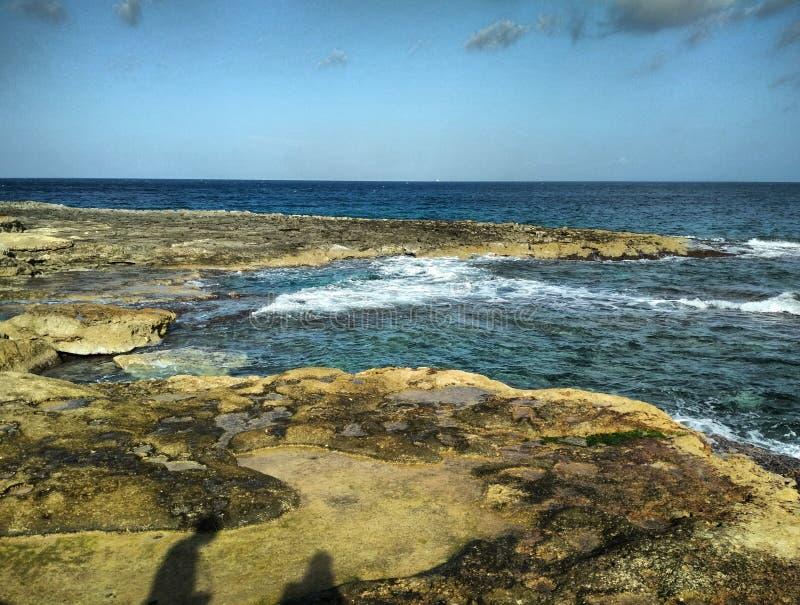 Meer Malta stockbild