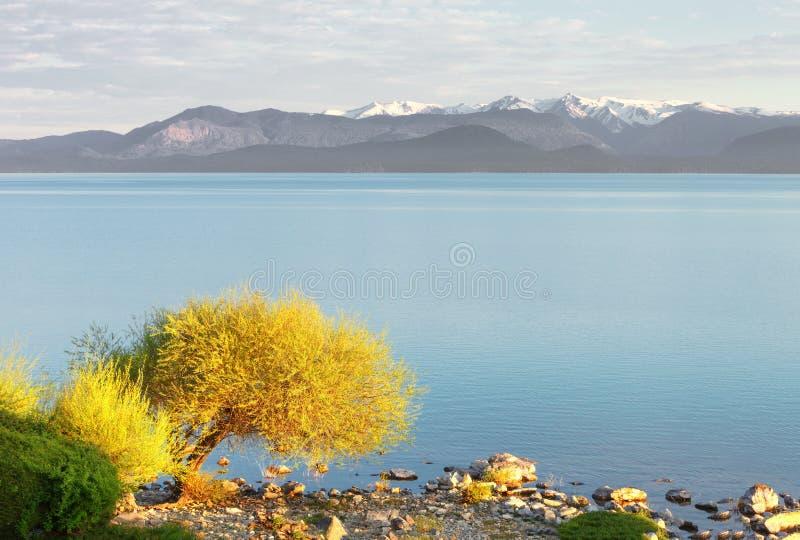 Meer Nahuel Huapi, San Carlos de Bariloche, Patagonië royalty-vrije stock foto
