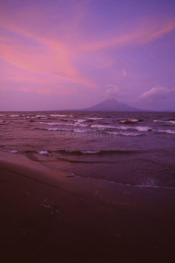 Meer Nicaragua stock fotografie