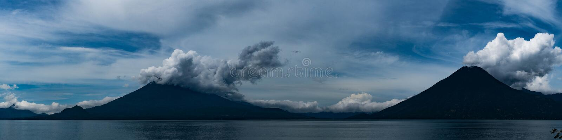 Meer Nicaragua en Ometepe stock foto's