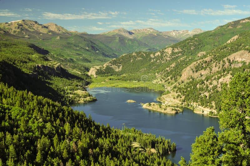Meer San Cristobal, Colorado stock foto