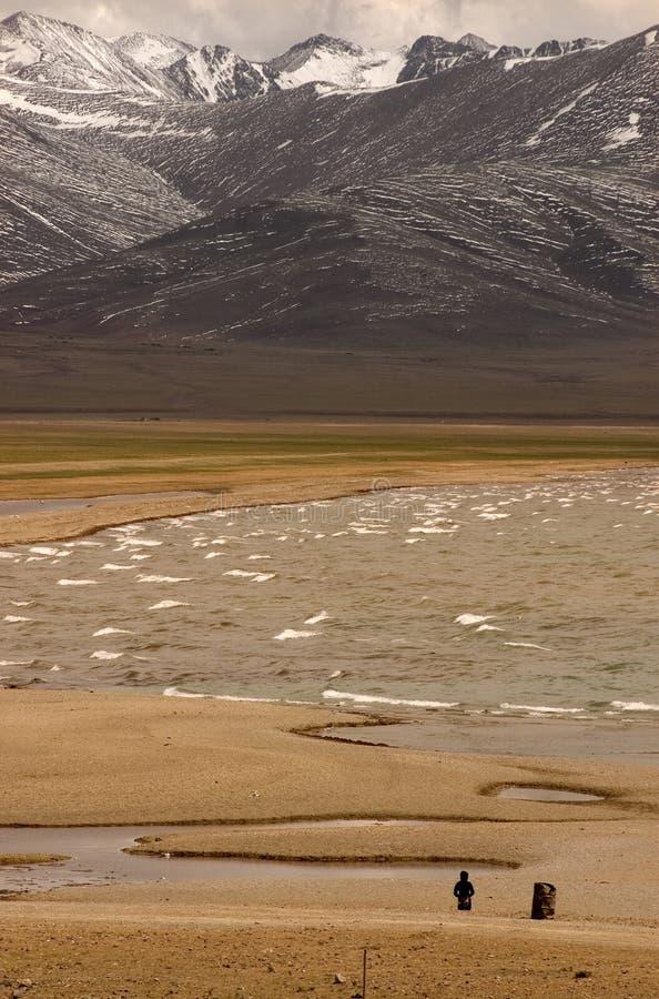 Meer Tibet-1 van Namtso royalty-vrije stock fotografie