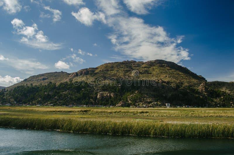 Meer Titicaca royalty-vrije stock afbeelding