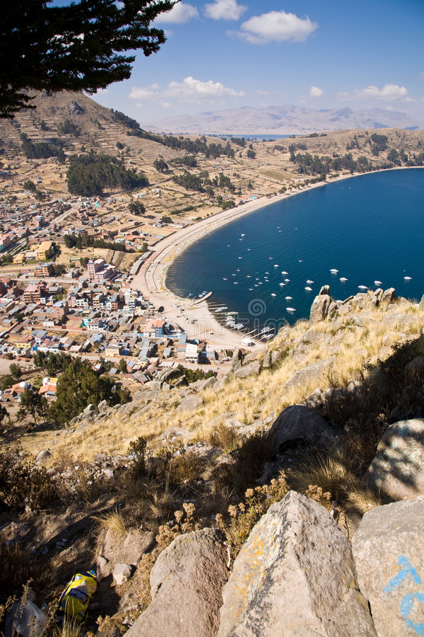 Meer Titicaca royalty-vrije stock foto's