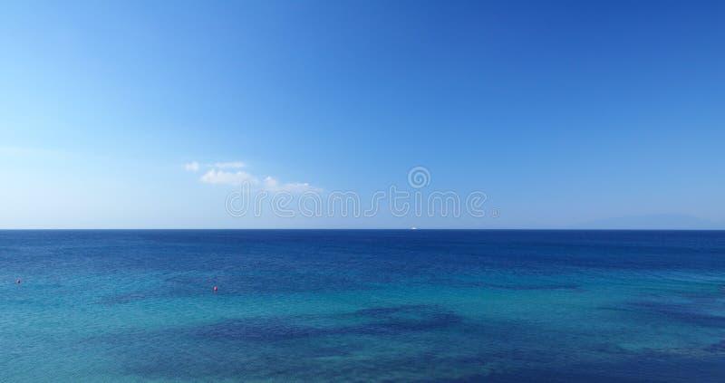 Meer und Himmel stockfotos