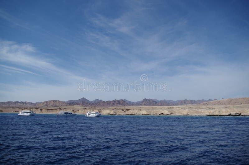 Meer und Himmel lizenzfreie stockbilder
