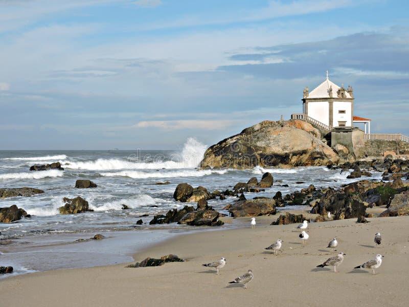 Meer und Ozean, ein evokatives Panorama stockbilder