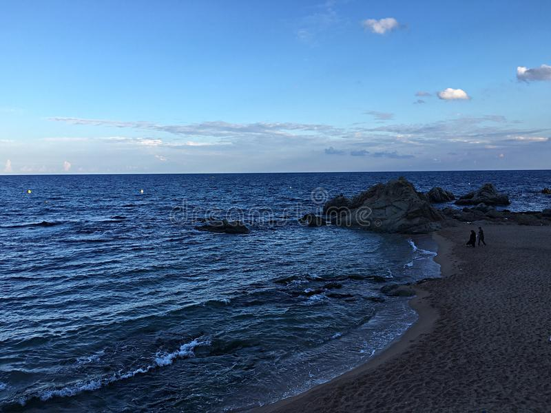 Meer und Sand: stockbild