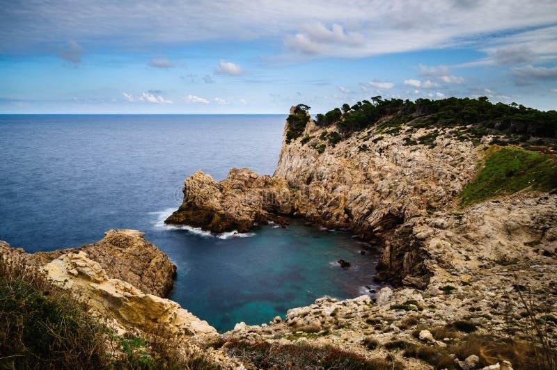 Meer und Stein stockfotografie