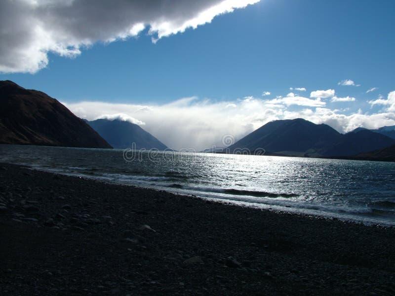 Meer und Wolken lizenzfreie stockfotos
