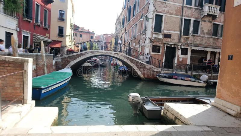 Meer van Venetië op september stock foto