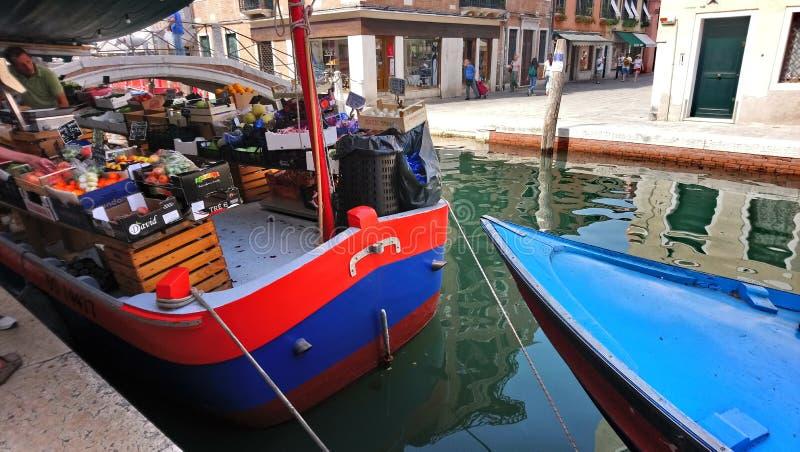 Meer van Venetië op september stock fotografie