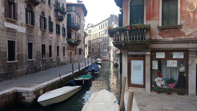 Meer van Venetië op september stock afbeeldingen