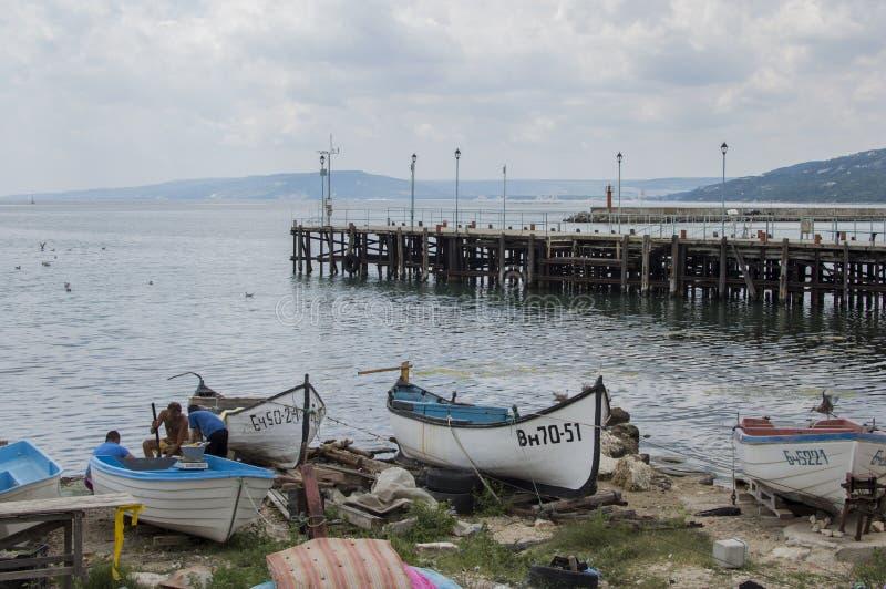 Meer in Varna, Bulgary stockbild