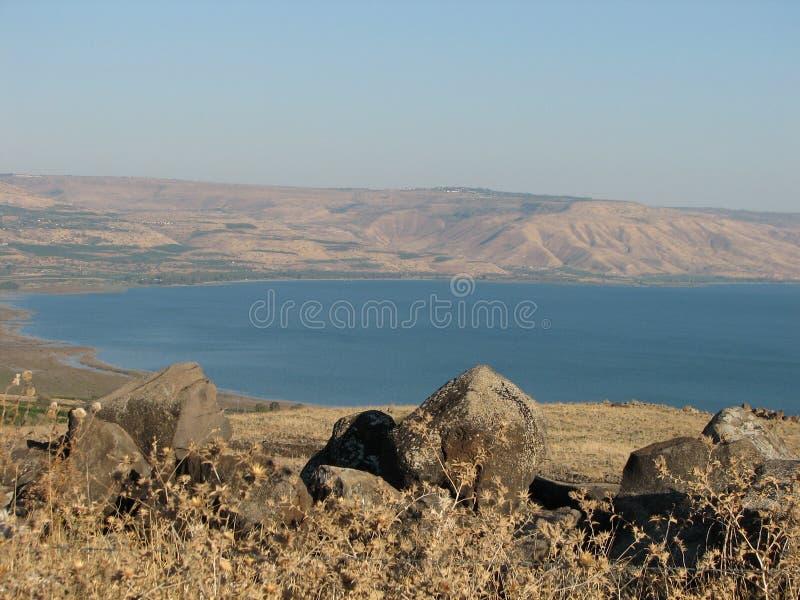 Meer von Galiläa stockbilder