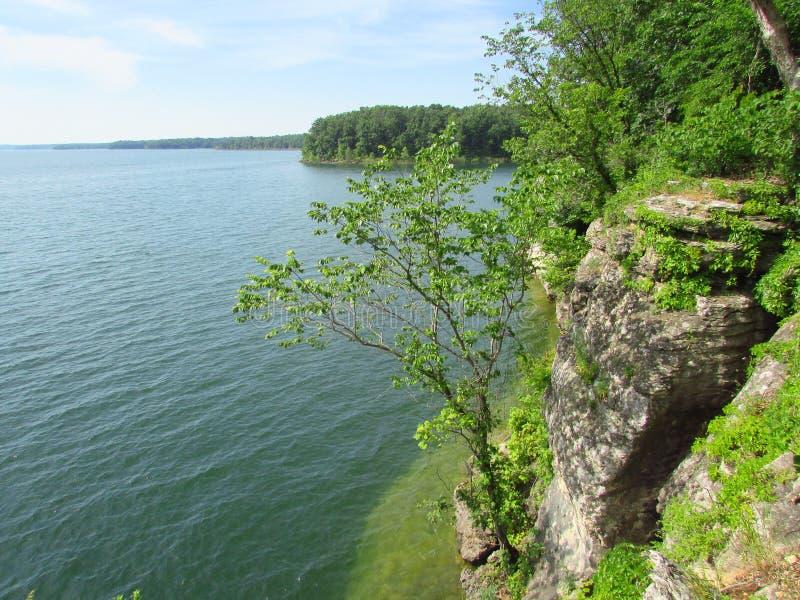 Meer zijklip in Missouri stock afbeelding