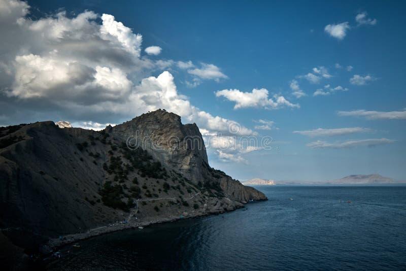 Meerblick in der Krim lizenzfreie stockfotos