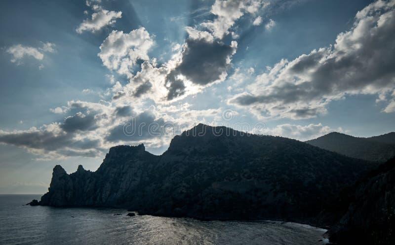Meerblick in der Krim lizenzfreies stockfoto