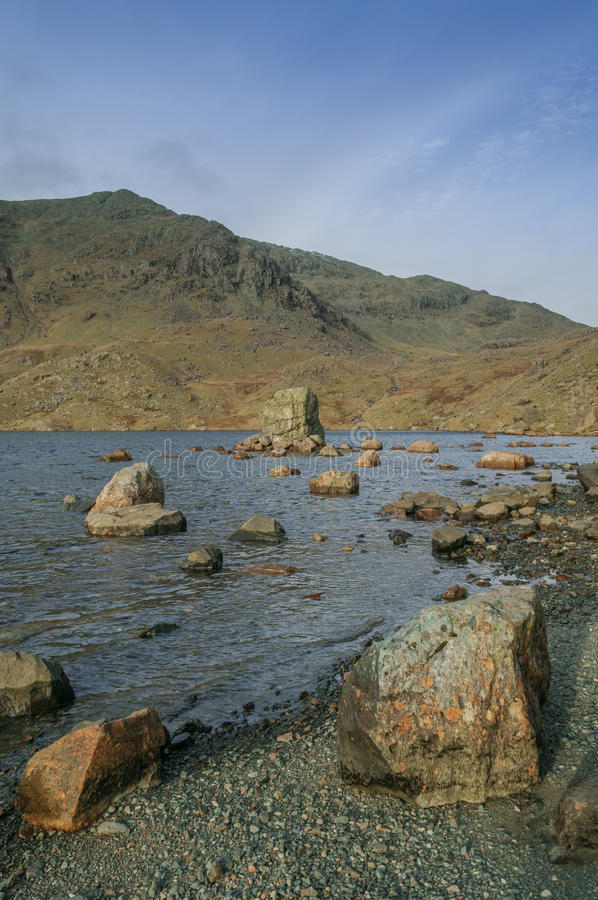Meerdistrict, Berg de Tarn royalty-vrije stock afbeeldingen