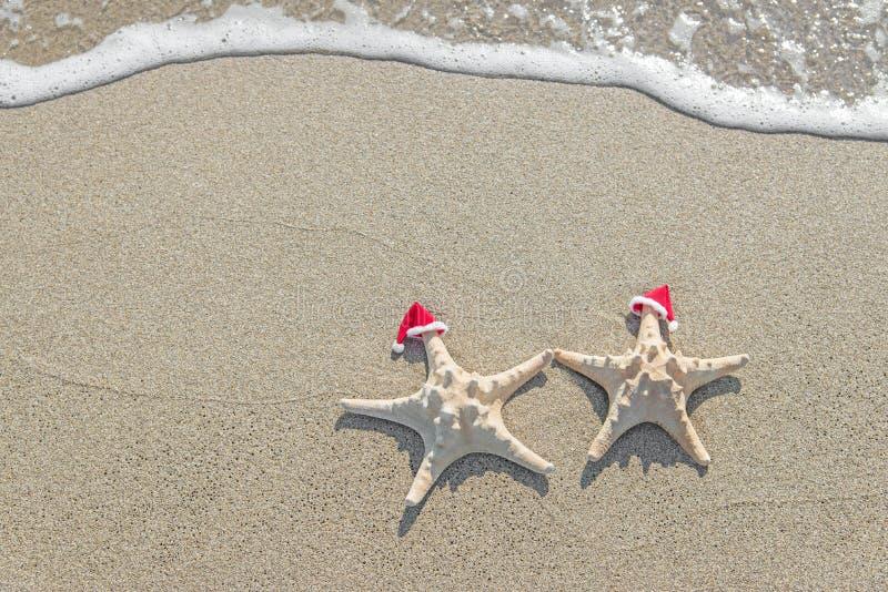 Meeres-Sterne verbinden in Sankt-Hüten auf dem Sand lizenzfreies stockbild