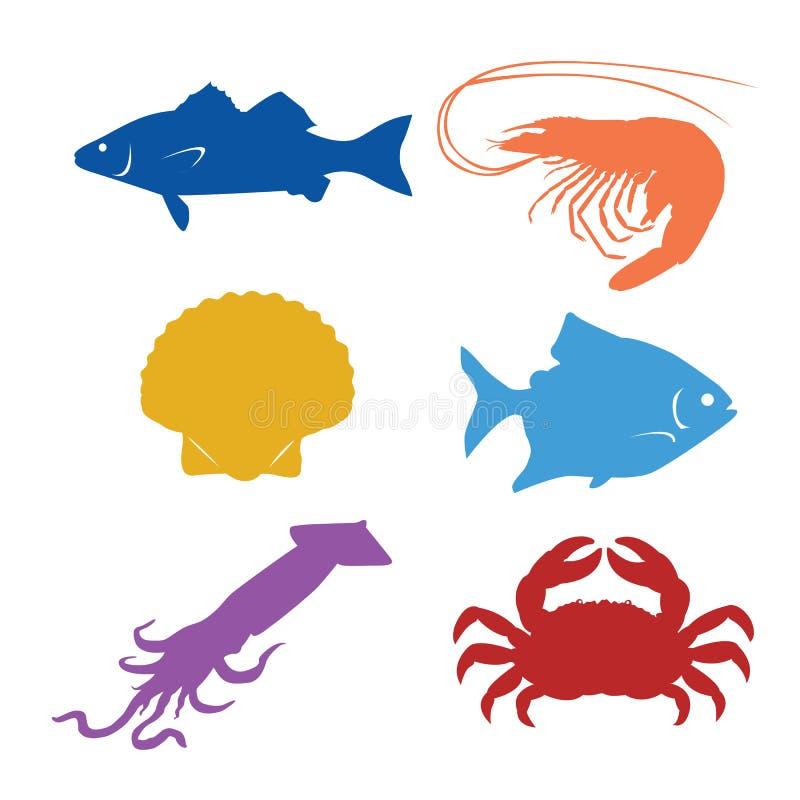 Meeresfrüchte lizenzfreie abbildung