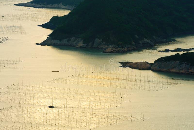Meerespflanzebauernhof lizenzfreie stockfotografie