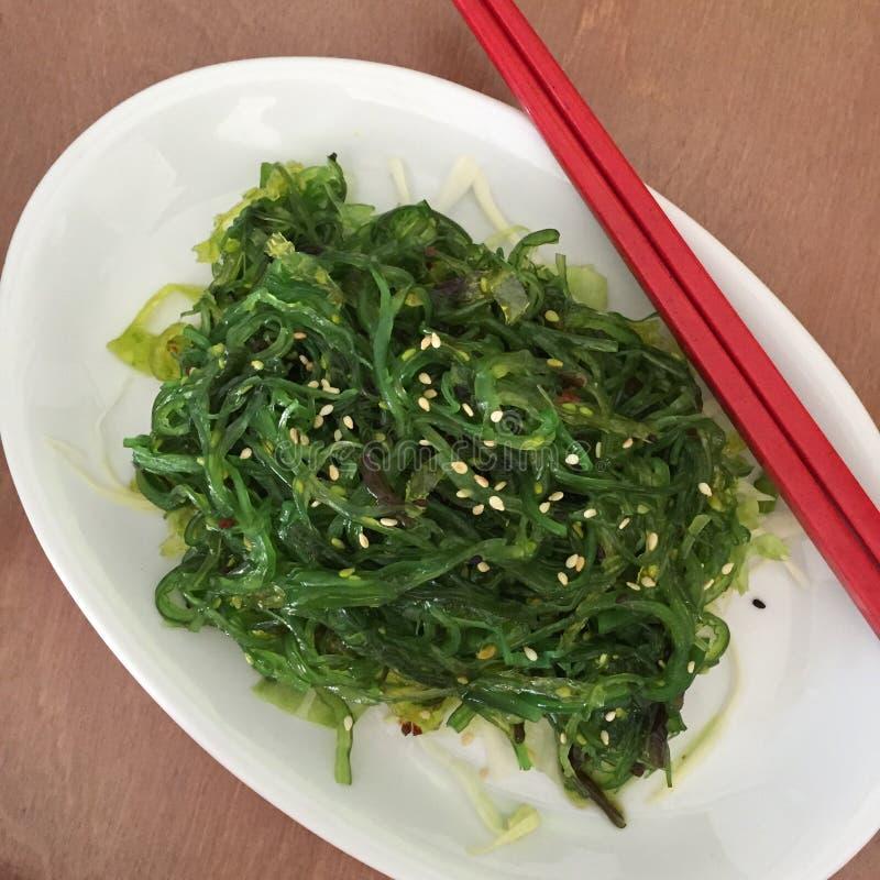 Meerespflanzen-Salat lizenzfreies stockfoto