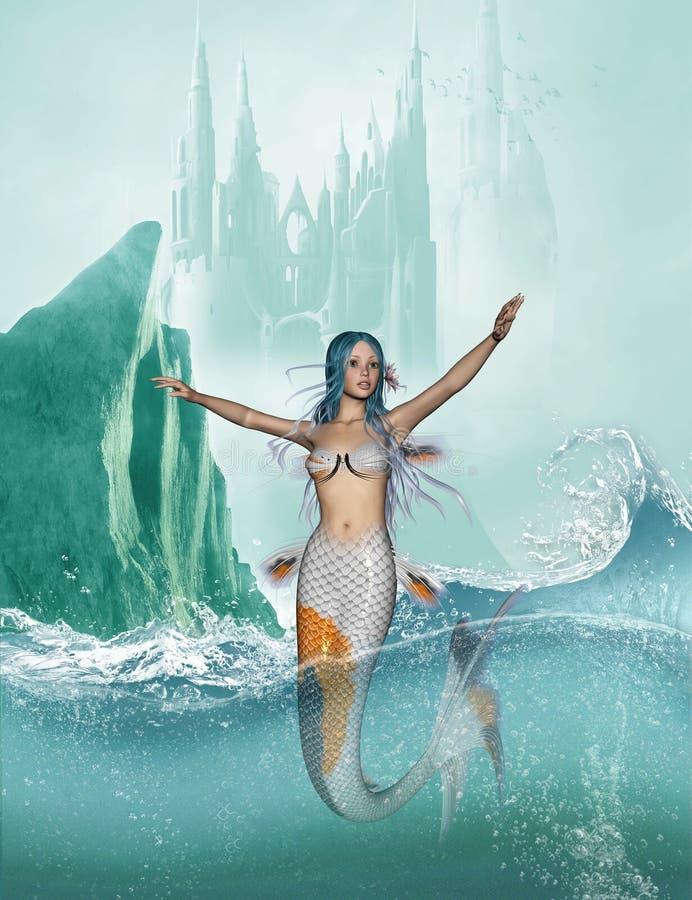Meerjungfrau vektor abbildung