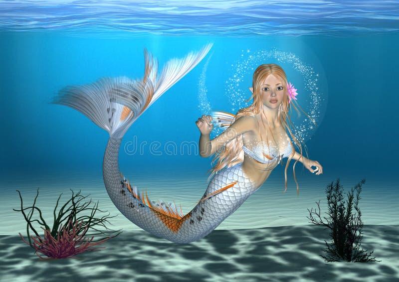 Meerjungfrau stock abbildung