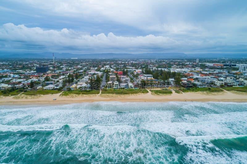 Meerjungfrau-Strandvorort Gold Coast stockbild