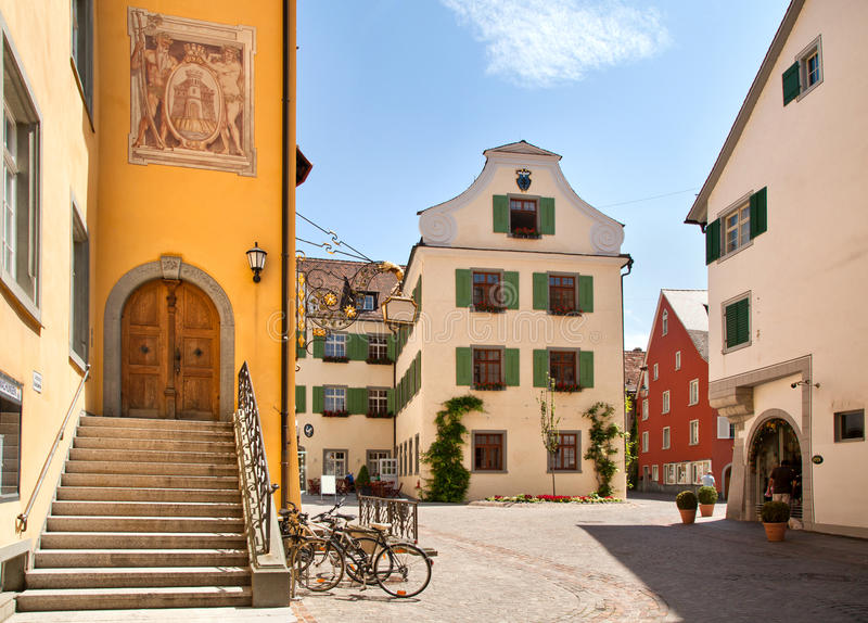 Download Meersburg at lake Bodensee stock photo. Image of ancient - 26457010