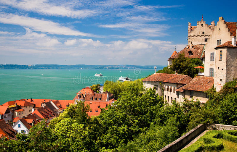 Download Meersburg And Lake Constance Stock Image - Image: 26457065