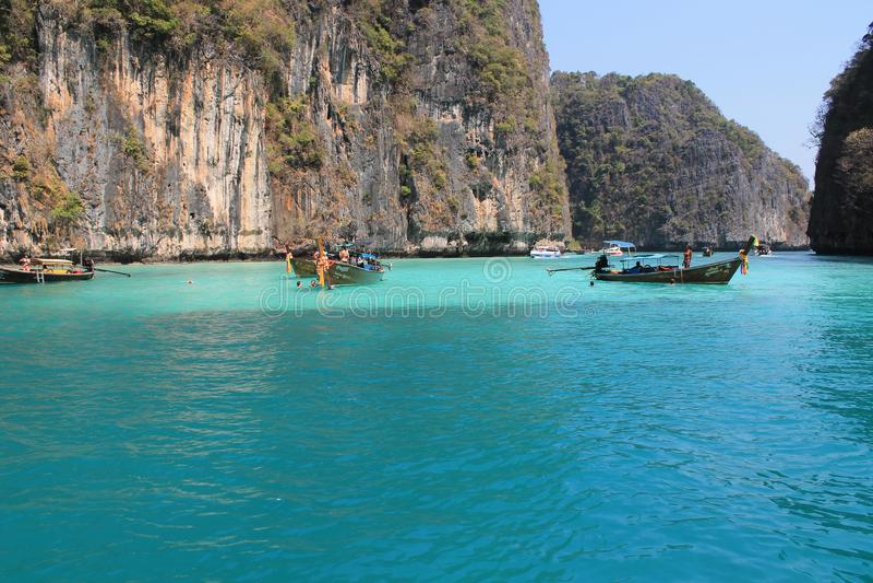 Meerthailands Krabi inselreise lizenzfreies stockfoto